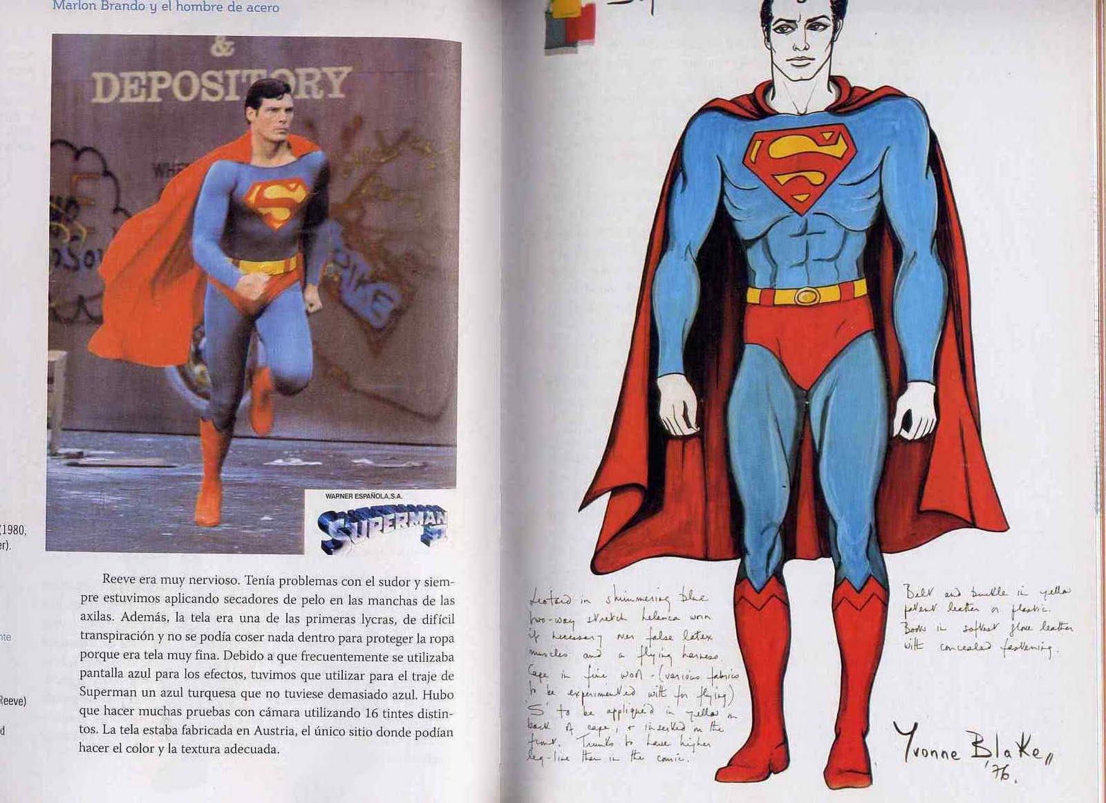 SUPERMAN Ernesto Terrón diseñador de vestidos de novia y Alta Costura Yvonne Blake