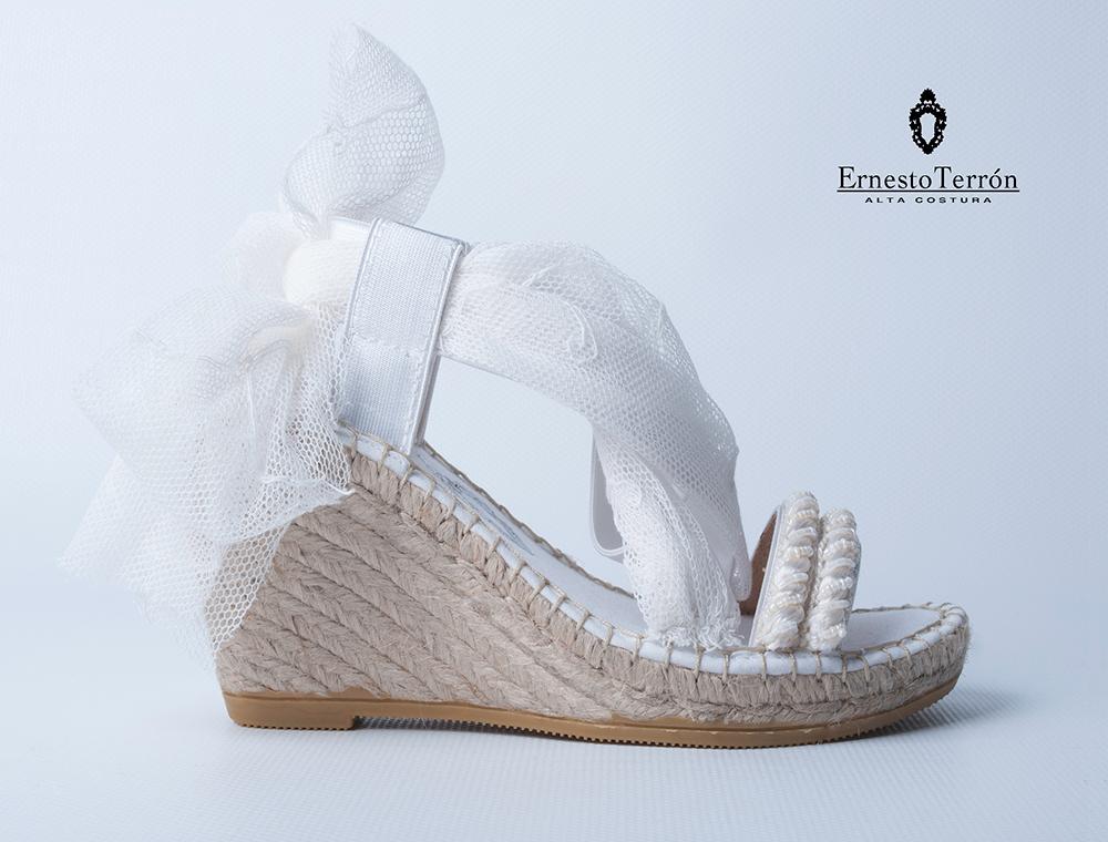 INDRE tul bordado alpargatas-novia-ernesto-terron-a-medida-personalizables-vintage zapatos novia rural boda campo bohemia Valladolid tienda online